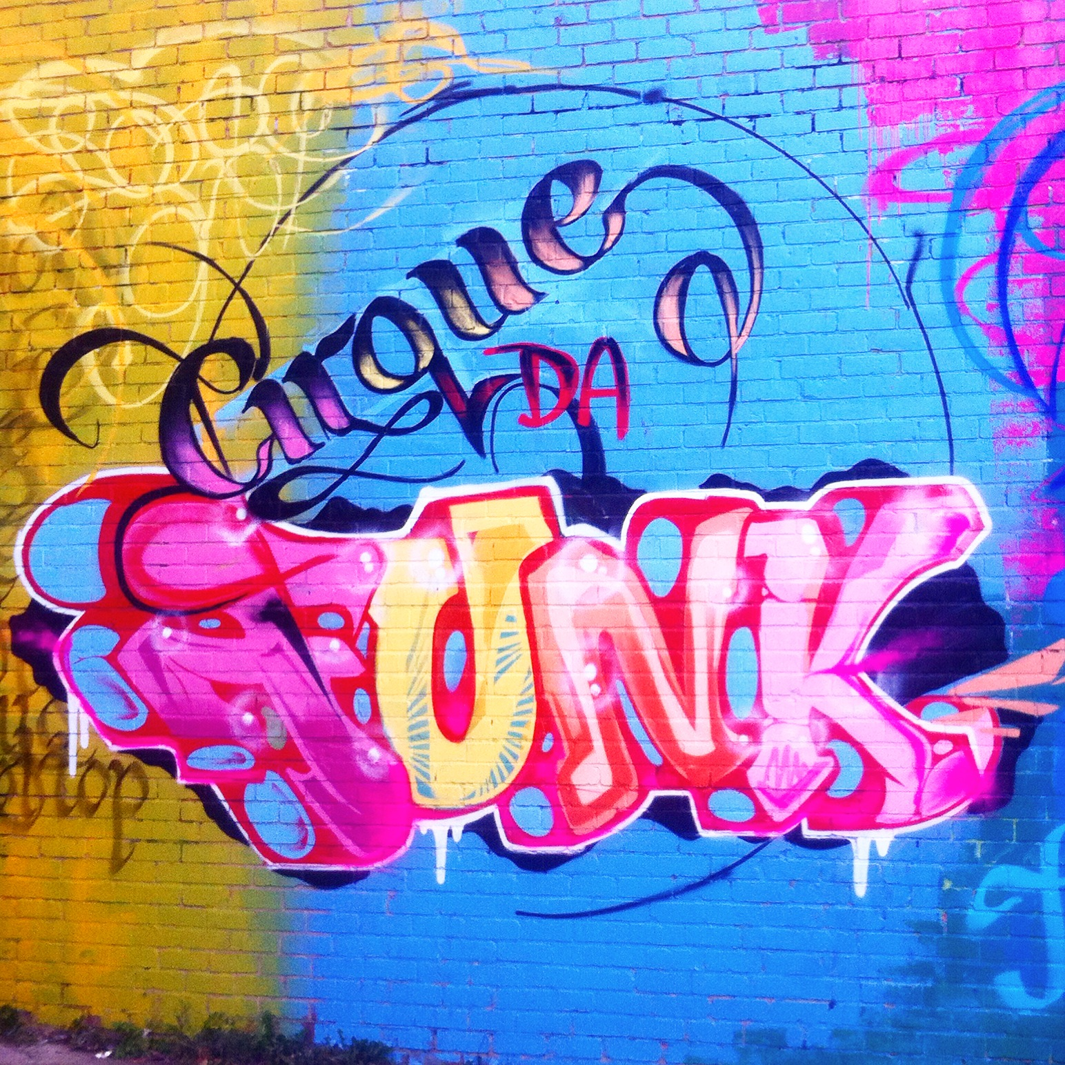 Cirque da Funk graffiti text